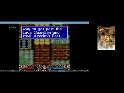 Indiana Jones and the Infernal Machine - Palawon Vulcano (GBC - All Treasures) - 12:30  