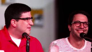Adam Horowitz and Edward Kitsis for OUAT at SDCC 2013 Thumbnail