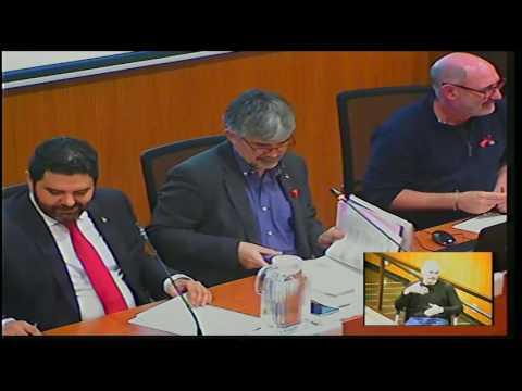 Consell de Districte de les Corts. Sessió plenària de 1/12/2016