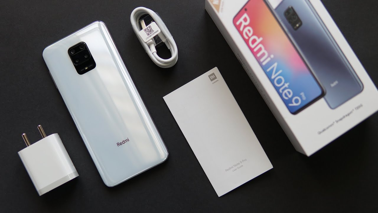 Redmi Note 9 Pro Glacier White Unboxing, First Look - Best color variant?