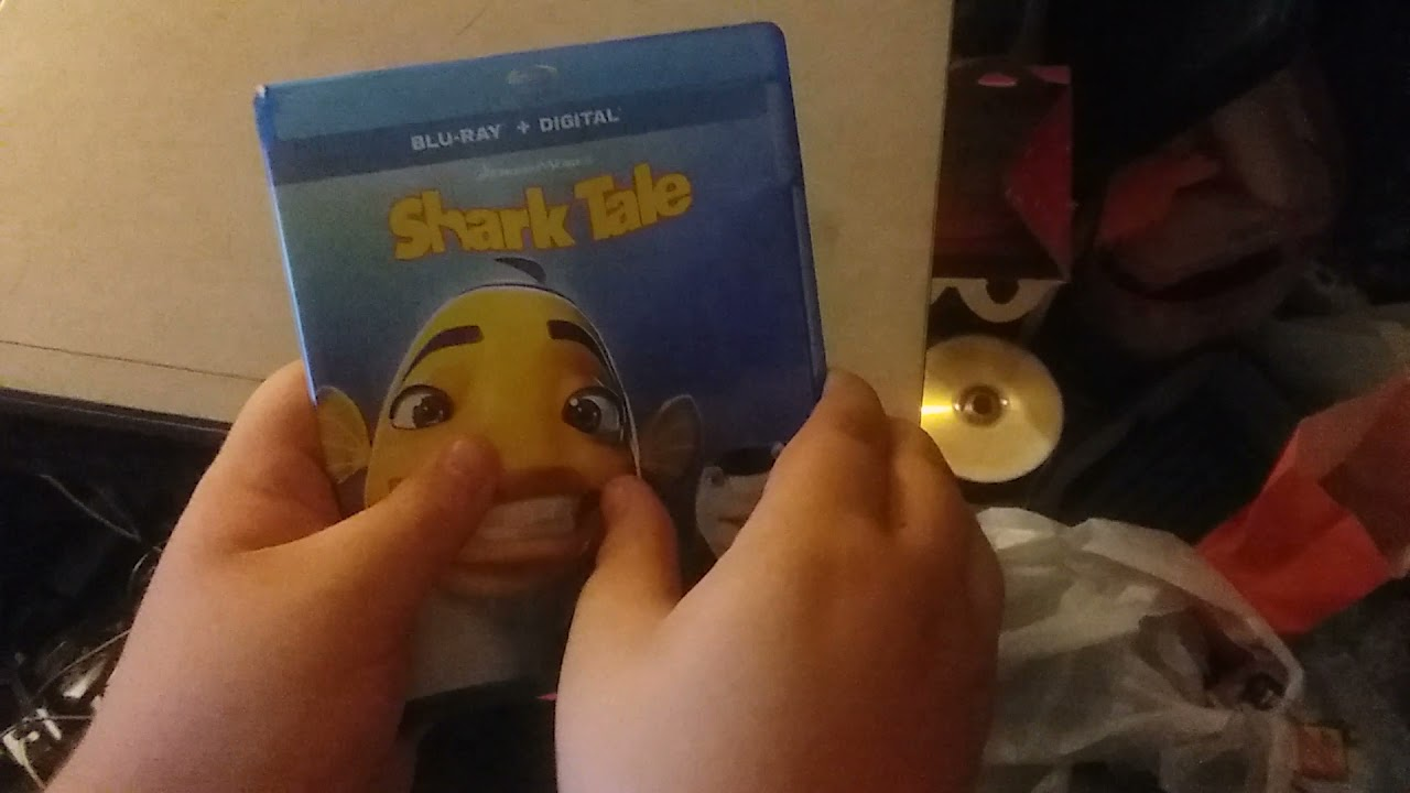 Download Shark Tale Blu-ray Unboxing