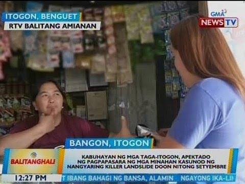 BT: Kabuhayan ng mga taga-Itogon, apektado ng pagpapasara ng mga minahan kasunod ng landslide