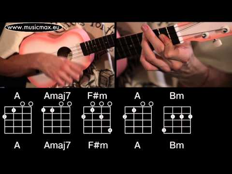 The Beatles - While My Guitar Gently Weeps ukulele chords