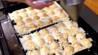プロが教える、美味しいたこ焼きの焼き方![Making of the takoyaki] thumbnail