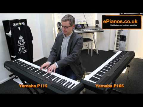 Yamaha P105 v P115 Comparison - What piano should I buy?