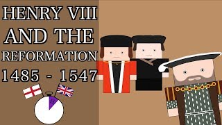 Ten Minute English and British History #17 - The Early Tudors: Henry VIII and the Church of England