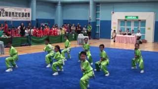 佛教林炳炎紀念學校I~學校組小學組南拳第五名 (2016全港
