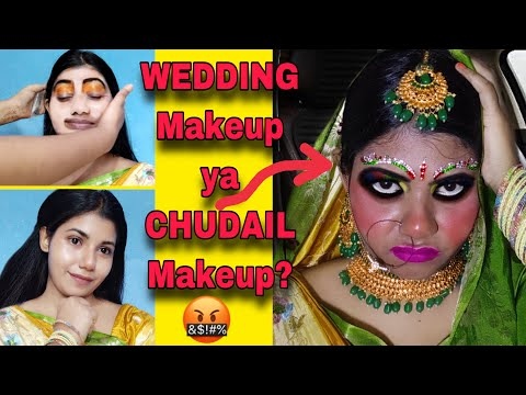 I WENT TO THE WORST REVIEWED MAKEUP ARTIST IN INDIA KOLKATA || worst reviewed ma