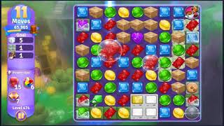 Wonka's World of Candy Level 474 - NO BOOSTERS + FULL STORY ???? | SKILLGAMING ✔️