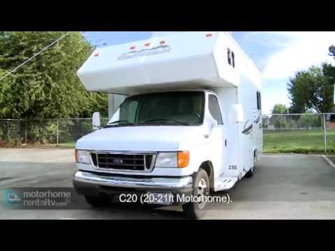 Class C Motorhome - RV Rental Canada