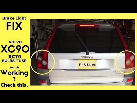 Volvo Xc90 Tail Lights Diagram - Today Diagram Database