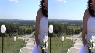 Классный прикольный свадебный клип 3Д