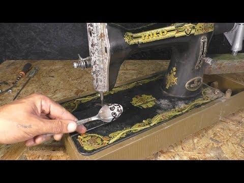 Что можно сделать из швейной машины