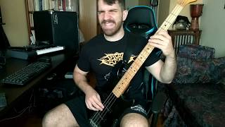 Watchtower - Dangerous Toy Bass Cover