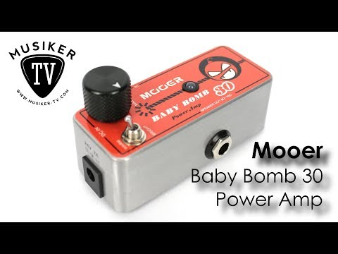 Mooer Baby Bomb 30 Power Amp - Review