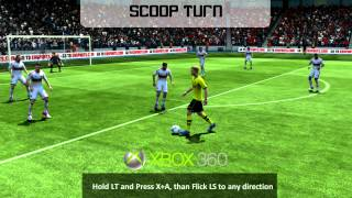 FIFA 13 Skill Move Tutorial - All Skills Tutorial (Including New Skills) - Xbox 360