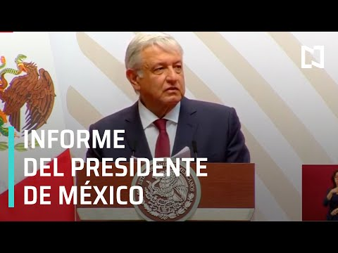 Informe del Presidente de la República al Pueblo de México