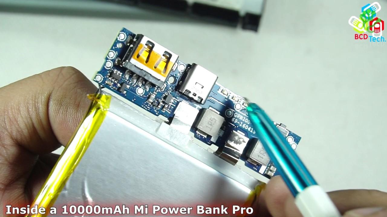 Inside Xiaomi 10000mah Mi Power Bank Pro Youtube Circuit Diagram For
