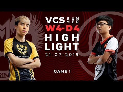 GAM Vs LK _HighLights [VCS Mùa Hè 2019][21.07.2019][Ván 1]