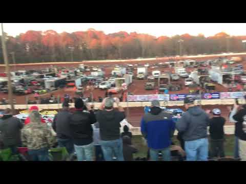 11/24/19  blue gray 100 from Cherokee speedway