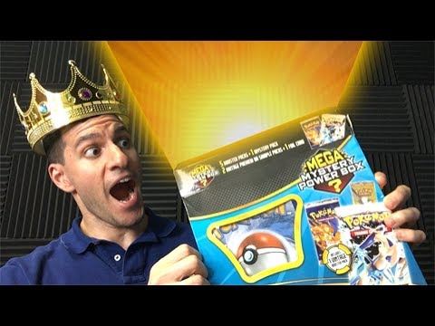 VINTAGE HOLO PULL! - MEGA MYSTERY POWER BOX OPENING from WALMART POKEMON CARDS!