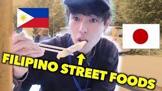 EATS FILIPINO STREET FOODS IN JAPAN!!!!!!