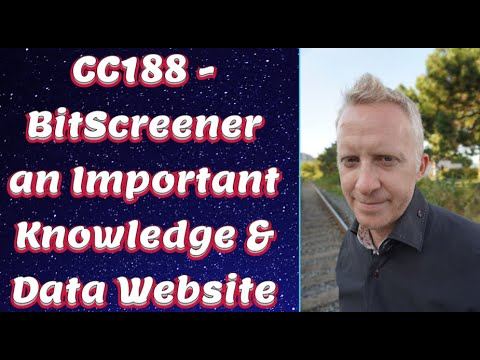 CC188 - BitScreener an Important Knowledge & Data Website