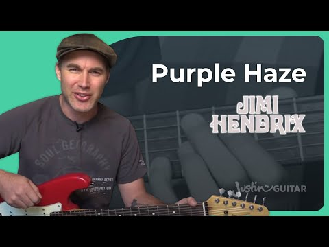 How to play Purple Haze by Jimi Hendrix (Guitar Lesson ST 331)