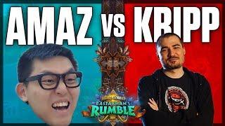 Amaz vs. Kripp Rastakhan\'s Rumble Showmatch Bo9
