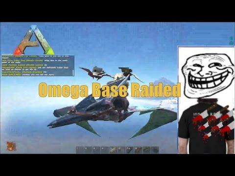 Morning raid Omega - Ark survival evolved, Official Server 74