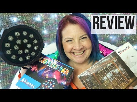 Solmore Stage Light Review | LED Par Light and Light Curtain