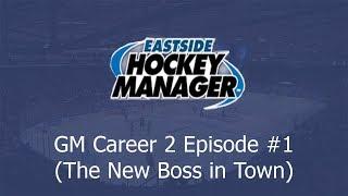 New Team, New Season   Let's Play Eastside Hockey Manager 2019 #1