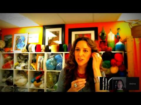 Fiber Art Now FAN Fare interview with Andrea Graham