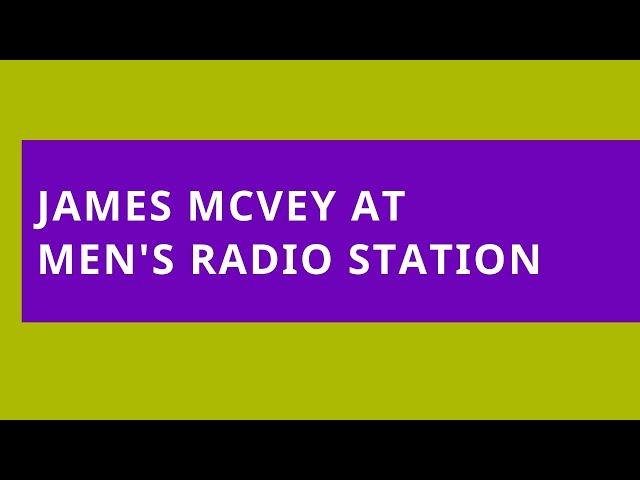 James McVey at Men's Radio Station: 29 September 2019