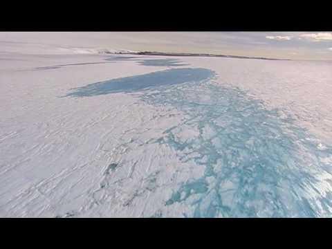 Antarctic glacial melt