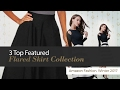 3 Top Featured Flared Skirt Collection Amazon Fashion, Winter 2017