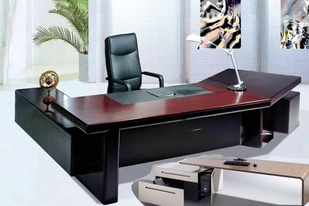 Office desk ideas youtube for Office table ideas