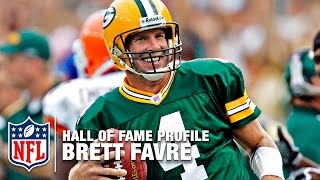 Brett Favre (Packers, QB) Career Feature | 2016 Pro Football Hall of Fame | NFL