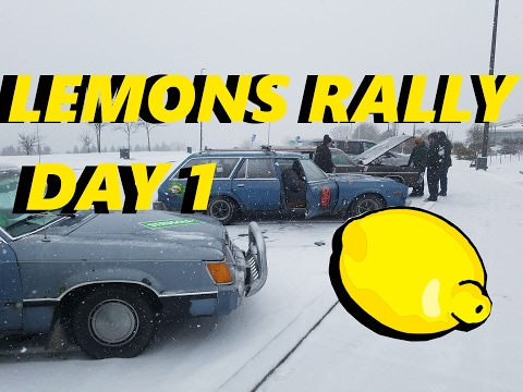 24hrs of Lemons Rally - Moscow to Paris - Day 1