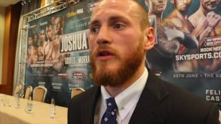 GEORGE GROVES ON MARTIN MURRAY - 'I'LL FORCE HIM TO PUNCH. I'LL BUZZ HIM, HURT HIM & KNOCK HIM OUT'