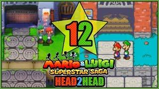 HOONIVERSITY! 3DS VS GBA Mario and Luigi Superstar Saga Head 2 Head Part 12 - DarkLightBros