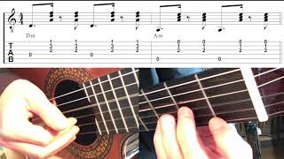 Tus Besos - Maluma/El Indio (Guitar tutorial)