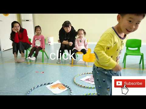 HULA HOOP - Game For Preschool English Learners