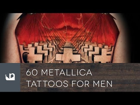60 Metallica Tattoos For Men