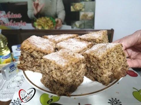 Bakina kuhinja - kolač sa jabukama brz  jeftin sočan mirisan