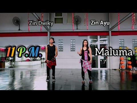 Maluma - 11 PM Choreography ZUMBA  FITNESS  At Boston&39;s Gym Balikpapan
