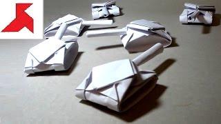 видео Как сделать танк из бумаги