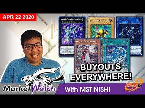 Crazy Buyouts Everywhere as the Market Blows Up! Yugioh Market Watch April 22 2020