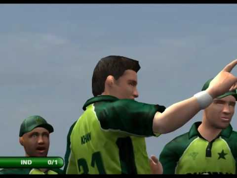 (Play#4) - EA Sport Cricket 2007 - Pakistan Vs India - Gamep