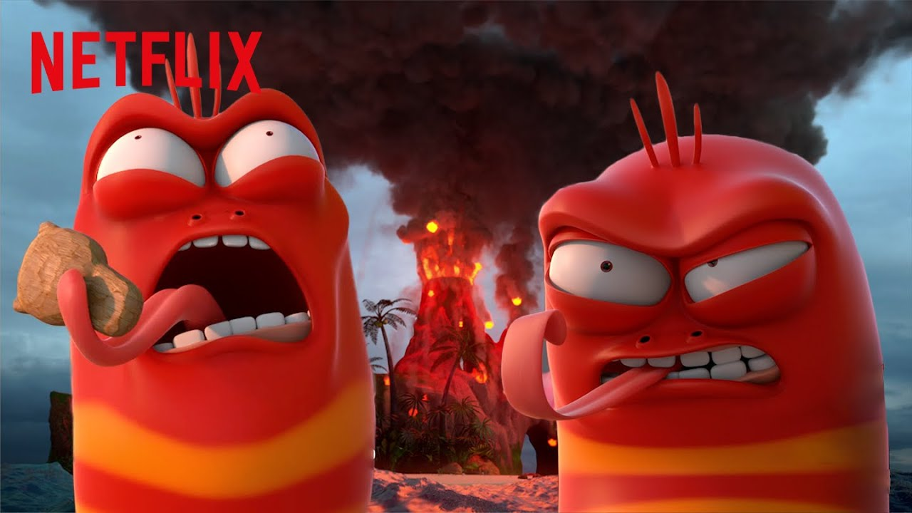 Download Red's Angriest Moments 😡 The Larva Island Movie | Netflix Futures